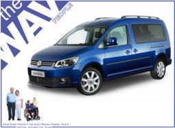 wheelchair accessible volkswagen vw caddy wavs